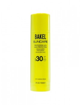 BAKEL SUNCARE ANTI-AGEING MEDIUM SUNSCREEN PROTECTION FACE E BODY SPF 15