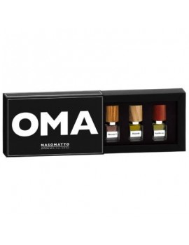 "NASOMATTO SET ""OMA"" LIMITED EDITION 3X4ML"