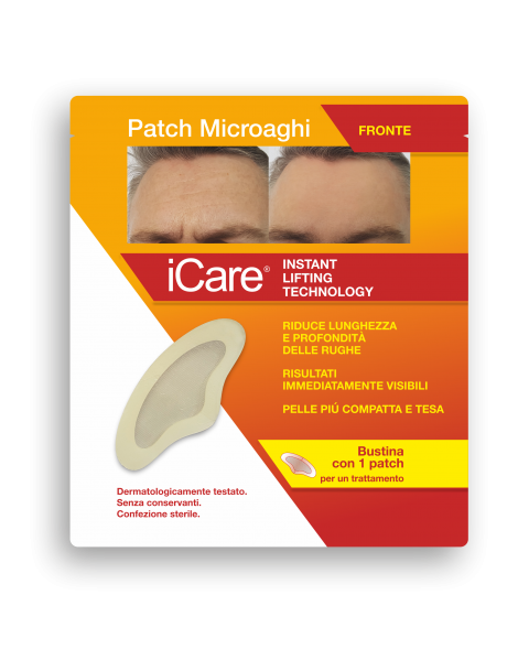 ICARE PATCH MICROAGHI FRONTE
