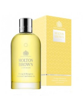 MOLTON BROWN- ORANGE & BERGAMOT RADIANT BATHING OIL