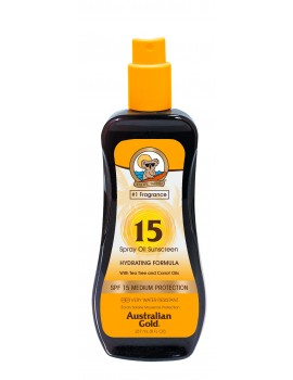 AUSTRALIAN GOLD SPF 6 SPRAY OIL CON OLIO DI CAROTA 237ML