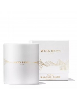 MOLTON BROWN MILK MUSK SINGLE WICK CANDLE