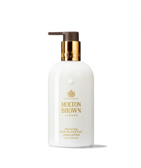 MOLTON BROWN - Mesmerising Oudh Accord & Gold hand lotion 300ML