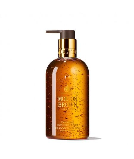 MOLTON BROWN - Mesmerising Oudh Accord & Gold fine liquid hand wash 300ml