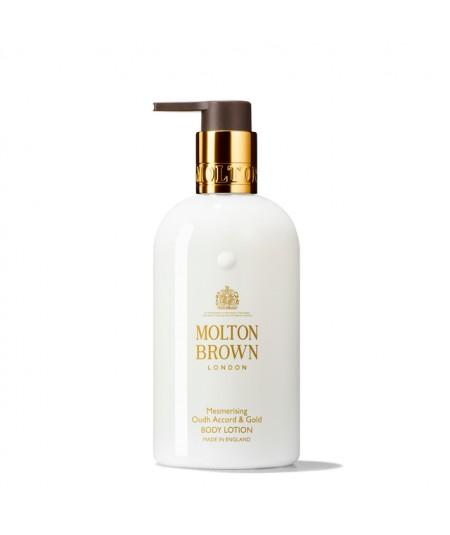 MOLTON BROWN - Mesmerising Oudh Accord & Gold body lotion 300ML
