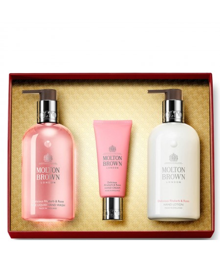 MOLTON BROWN - DELICIOUS RHUBARB & ROSE HAND COLLECTION